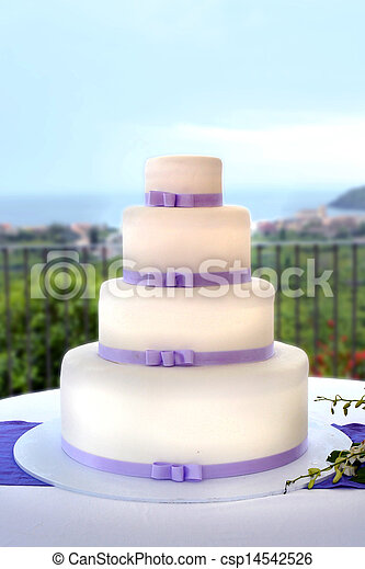 bolo, casório - csp14542526