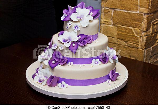 bolo, casório - csp17550143