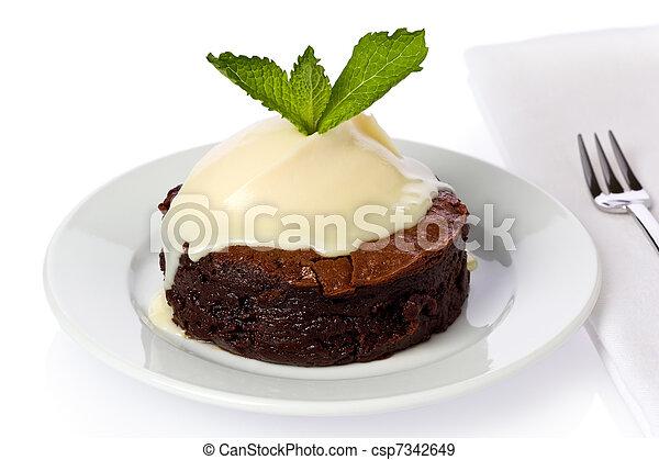 bolo, chocolate-boubon - csp7342649