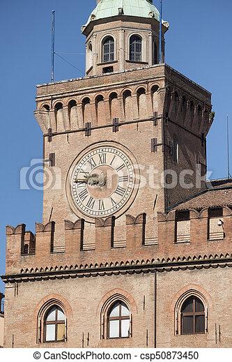 Bologna, historic building - csp50873450