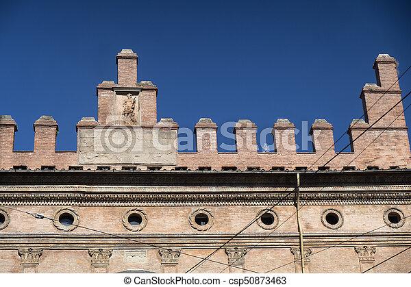 Bologna, historic buildings - csp50873463