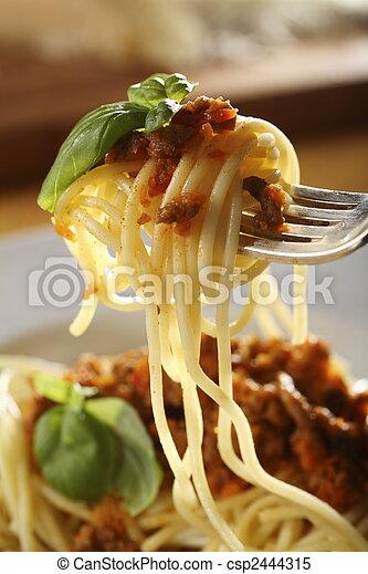 bolognese, espaguetis - csp2444315