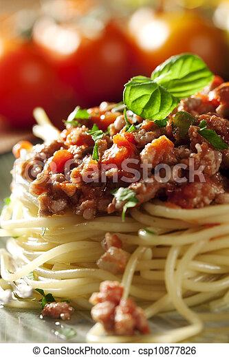 bolognese, espaguetis - csp10877826