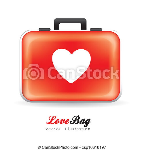 Bolsa de amor - csp10618197
