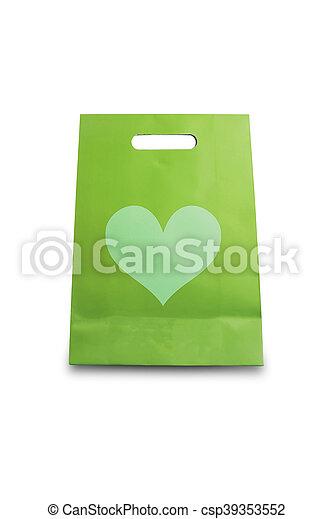 Bolsa de compras - csp39353552
