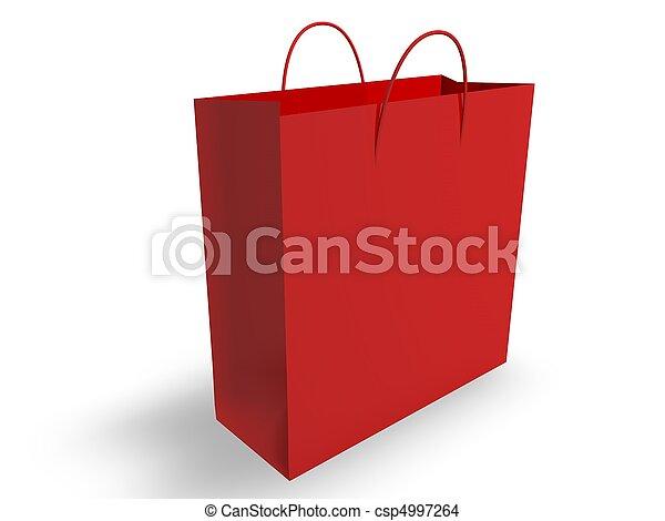 Bolsa de compras - csp4997264