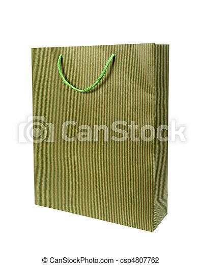 Comprando bolsas de consumismo - csp4807762