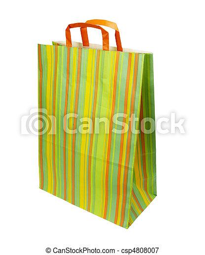 Comprando bolsas de consumismo - csp4808007