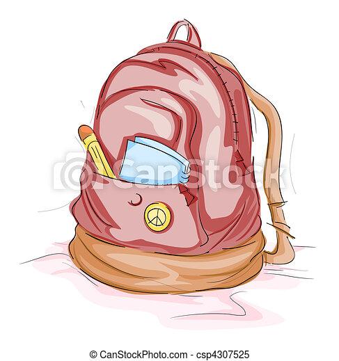 Bolsa escolar - csp4307525
