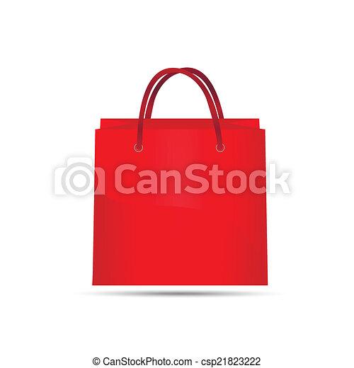Bolsa roja - csp21823222