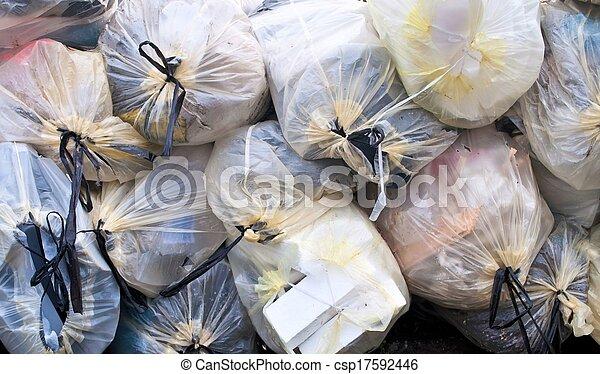 Bolsas de basura - csp17592446