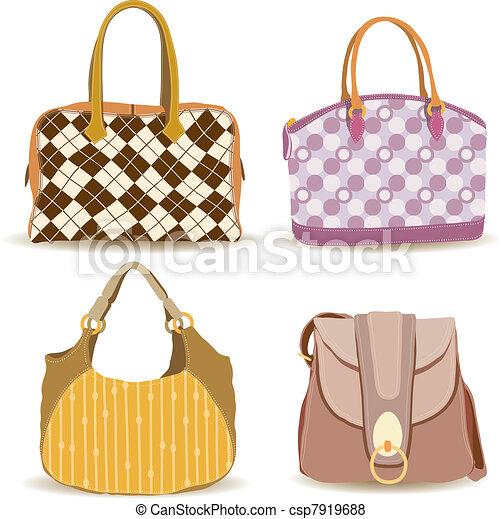 bolso, mujer, colección - csp7919688