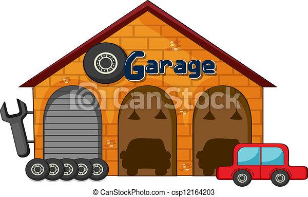 bolt, garázs - csp12164203