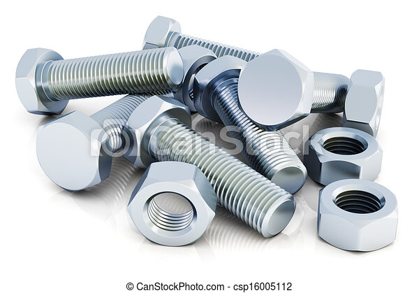 Bolts and nuts - csp16005112