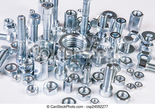 bolts and nuts - csp24582277