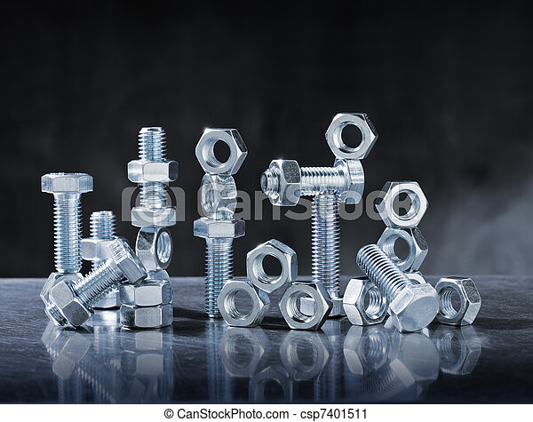 Bolts and Nuts - csp7401511