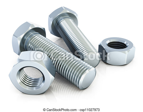 Bolts and nuts - csp11027973