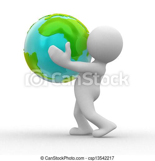 bolygó, megment - csp13542217