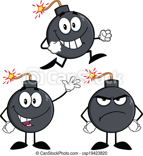 Bomb Characters 3. Collection Set - csp19423820