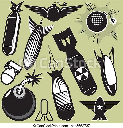 Bomb Collection - csp8662737