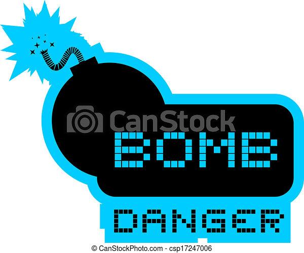 Bomb danger - csp17247006
