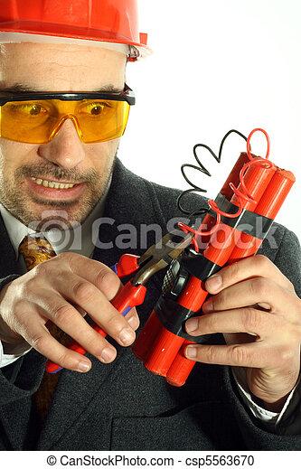 bomb disposal - csp5563670