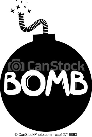 Bomb icon - csp12716893
