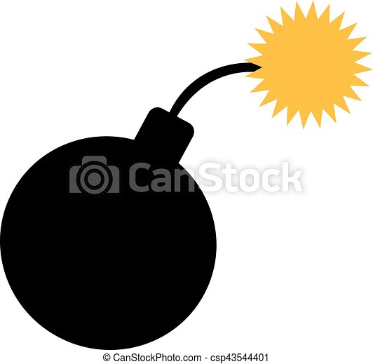 bomb icon ignition vector clipart search illustration drawings rh canstockphoto com bomb vector free download bomb vector art