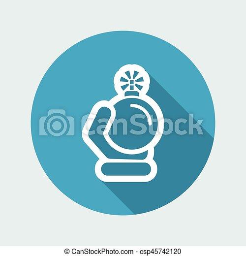Bomb icon - csp45742120