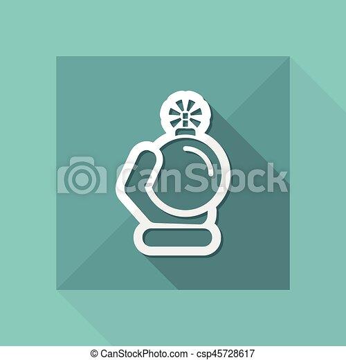 Bomb icon - csp45728617