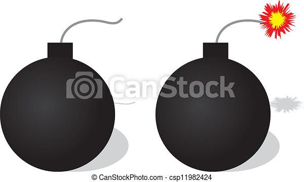 Bomb - csp11982424