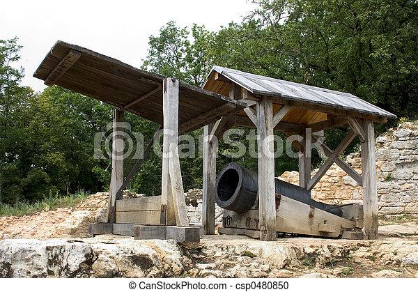 Bombard in Castelnaud, France - csp0480850