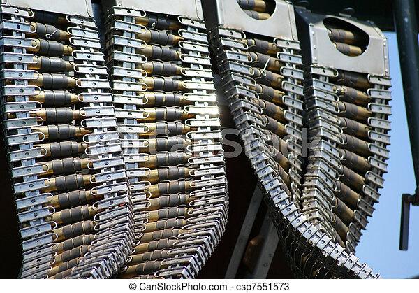 Bomber Machine Gun Bullets - csp7551573