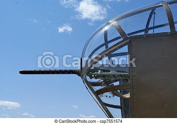 Bomber Machine Gun - csp7551574
