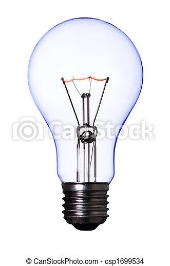 Una bombilla - csp1699534