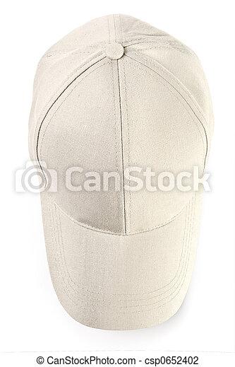boné, basebol, isolado - csp0652402
