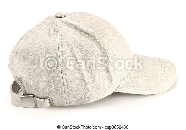 boné, basebol, isolado - csp0652400