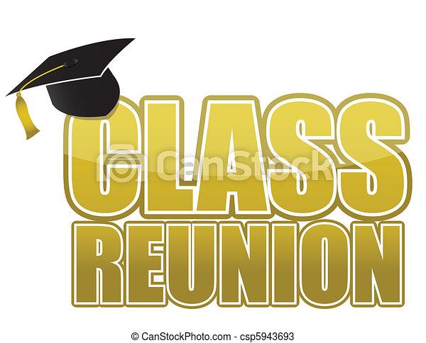 boné, classe, graduação, reunião - csp5943693
