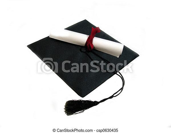 boné, diploma - csp0630435