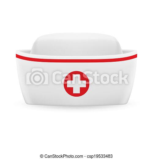boné, enfermeira - csp19533483
