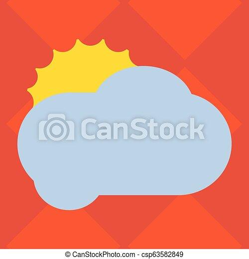 bon, vide, disposition, annonces, affaires colorent, affiche, pelucheux, invitation, salutation, derrière, vecteur, nuage, gabarit, vide, soleil, promotion, dissimulation, carte, briller - csp63582849