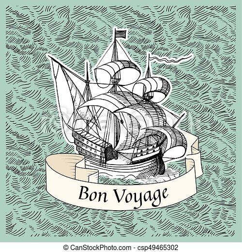 Bon Voyage - csp49465302