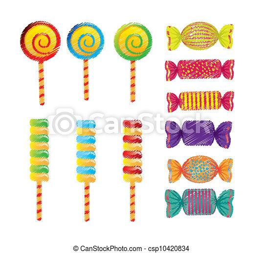 Bonbons Dessin