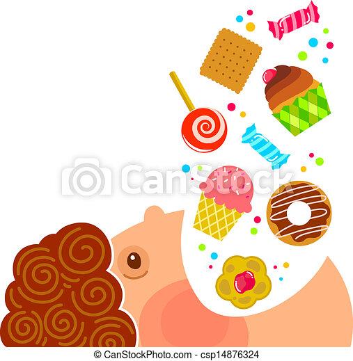 bonbons, manger - csp14876324