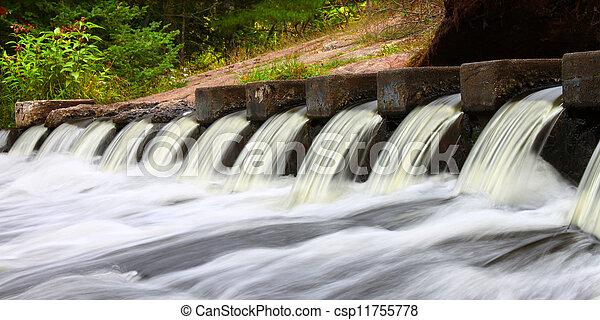 Bond Falls Scenic Site - csp11755778