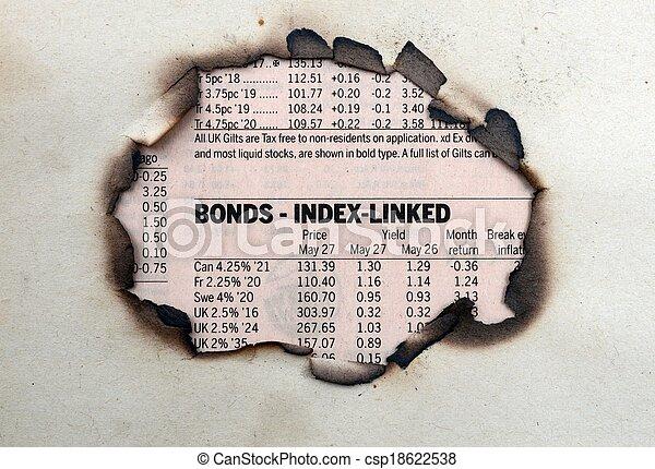 Bonds index - csp18622538