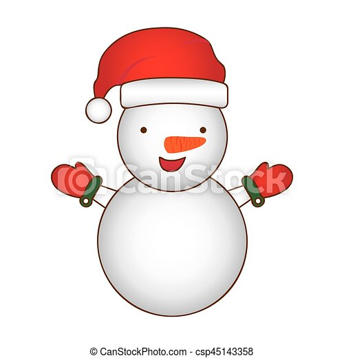 Boneco Neve Silueta Coloridos Caricatura Desenho Natal