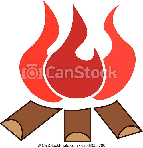 bonfire graphic image of wood and fire vector clipart search rh canstockphoto com bonfire clipart free clipart bonfire night