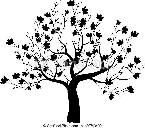 Bonito árvore Desenho Arte Seu