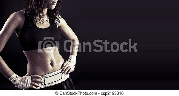 bonito, corporal, condicão física - csp2193316